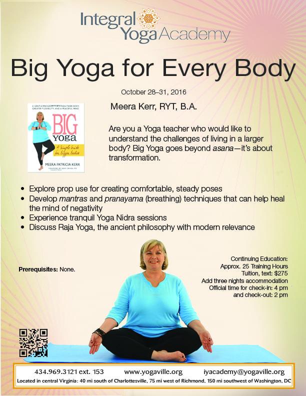 Acad. 10.28.16 Meera K. Big Yoga